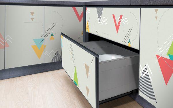 aluminium kitchen drawers