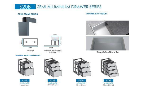 aluminium drawers supplier