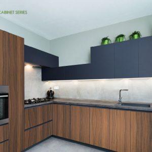Full Aluminium Kitchen Cabinet Series Vitally Sdn Bhd