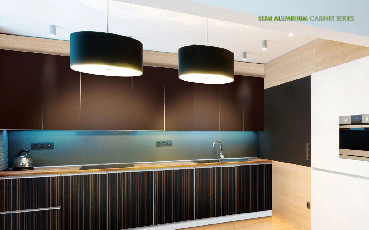 Semi Aluminium Cabinet Series For Kitchen - Vitally